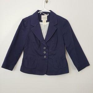 Anthropologie Cidra Button Up Blazer Jacket